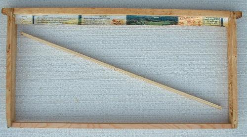 Homemade Foundationless Frames for Brood Nest/Chamber